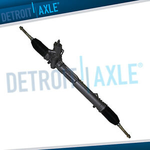 Complete Power Steering Rack And Pinion Assembly 2004 2010 Bmw X3 W Servotronic