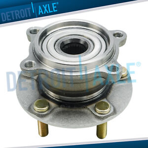 Rear Wheel Bearing Hub For 2004 2011 Mitsubishi Endeavor Awd 4x4 4wd Only