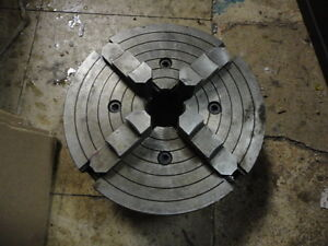 Machinist Mill Lathe Tool 4 Jaw 9 Lathe Chuck For Atlas South Bend