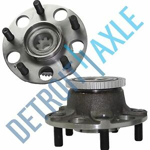 Set 2 New Rear Wheel Hub And Bearing Assembly For Honda Accord W Abs