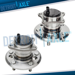 Pair 2 Rear Wheel Hub Bearing For 2002 2011 Toyota Camry Avalon Lexus Es350