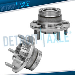 2 Rear Wheel Hub Bearing Assembly For 2006 2007 Fusion Fwd Non Abs