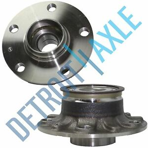Set 2 New Rear Wheel Hub And Bearing Assembly For Audi A3 Volkswagen Abs 30mm