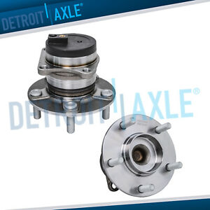 2 Rear Wheel Hub Bearing Assembly For 2007 20012 Mazda Cx 7 Fwd W Abs