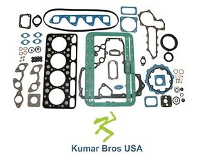 New Kumar Bros Usa Full Gasket Set For Bobcat 743 kubota V1702