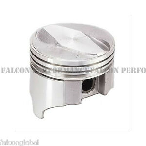 Sealed Power federal Mogul Chevy 402 Cast Aluminum 125 Dome Piston ring Kit Std