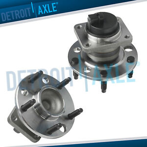 Front Wheel Bearing Hub Pair W abs 1993 2002 Chevy Camaro Pontiac Firebird