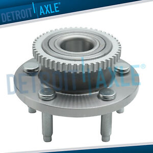 New Front Driver Or Passenger Complete Wheel Hub And Bearing Assembly W Abs