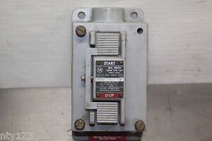 A b Bul 800h Nema 1600 Series N Start stop Switch