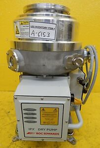 Ipx 500a Edwards A409 14 977 Vacuum Dry Pump Used Tested Working