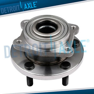 New Front Driver Or Passenger Complete Wheel Hub And Bearing Assembly W o Abs