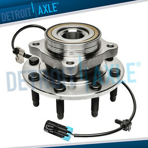 New Front Wheel Bearing Hub Assembly W Abs Chevy Gmc 2500 3500 8 Lug 4x4