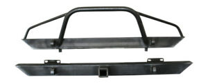 1984 2001 Front Rear Jeep Cherokee Xj Bumper Set
