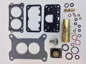 Holley Qft Aed 4412 2300 2 Bbl 500 Cfm Complete Carburetor Kit With Float