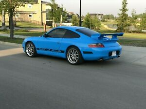 Porsche 997 2 Gt3 Rs Style Rear Spoiler Tail Wing For 996 Carrera 99 To 04 Kit