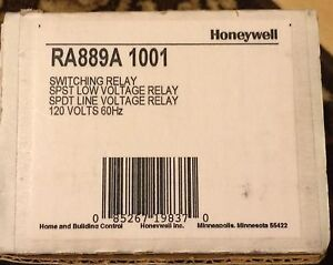 Honeywell Ra889a1001 Relay switching