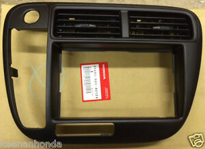 Genuine Oem Honda Civic Radio Stereo Trim Bezel Cover 1999 2000