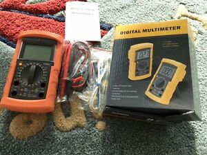 New Victor Ldb Digital Multimeter frequency duty Cycle data Hold vc890c