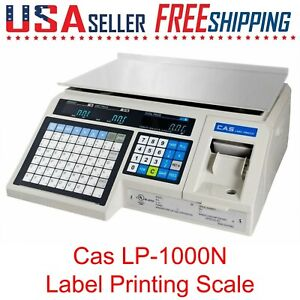 Cas Lp 1000n Label Printing Scale Weigh Scale Lp1000n Lp1000 Deli Meat Market