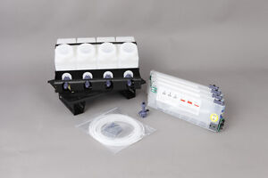 Bulk Ink System For Mimaki Jv3 With Permanent Chips Single Cmyk Ss1 ss2