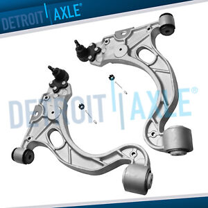 Both 2 Front Lower Control Arm W Ball Joint Assembly Buick Cadillac Pontiac
