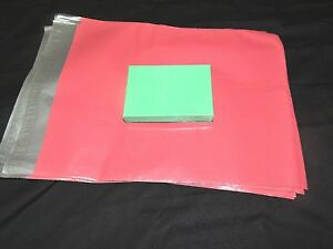 20 12x15 5 Pink Poly Mailers Envelopes Shipping Plastic Mailing Bags 12 x15