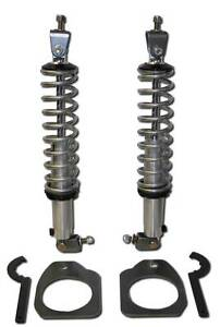 Rear Coil Over Kit Qa1 18 Way Double Adjustable Shocks 200 Springs