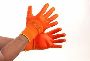 10 Pairs Pvc Construction Gloves Cut Resistance Level 2