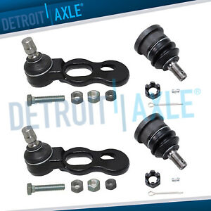 Front Upper Lower Ball Joints For 95 02 Ford Crown Victoria Lincon Town Car