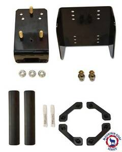 Oversize Spare Tire Relocation Mounting Bracket Package Jeep Jk Wrangler