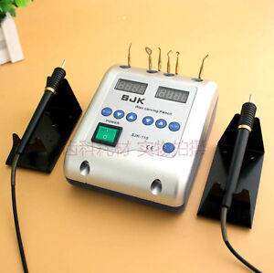 3x Dental Lab Electric Wax Knife Waxer Carving Pen Pencil Carver With 6 Tips