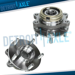 2003 2007 Nissan Murano Quest Pair Of Front Wheel Bearing Hub Assemblies