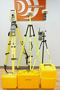 Trimble Is Solution S6 Robotic Total Station R8 Model 3 Gps Gnss Rtk Set Tsc3