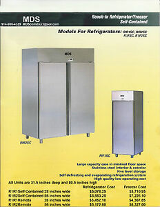 Commercial Stainless Steel Refridgerator freezer