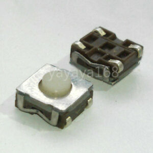 500pcs 6 6 3 5mm Smd Soft Rubber Tact Switch Pcb Tactile Switches Pushbutton