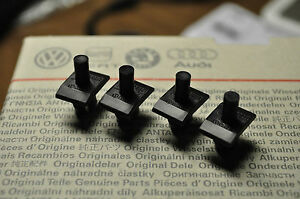 Vw Mk1 Rabbit Jetta Pickup Convertible Grill Clips Nos Oem