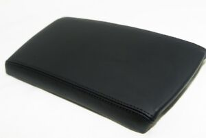 Center Console Armrest Cover Real Leather For Nissan Altima 07 12 Black