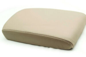 Armrest Center Console Lid Cover Real Leather For Nissan Maxima 09 14 Beige