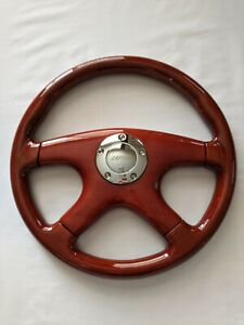 New Raptor 15 100 Mahogany Wood Grain Steering Wheel Premium Quality