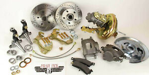1964 1972 Gm A F X Body Disc Brake Conversion Kit Camaro Chevelle Nova Gto