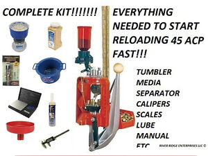 Lee Loadmaster Progressive Press 45 ACP Lee 90945 - COMPLETE KIT FOR RELOADING