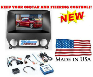 2014 Up Chevy Gmc Truck Double 2 Din Car Stereo Radio Installation Dash Kit