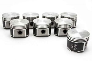 Speed Pro trw Chrysler dodge plymouth 383 Forged Flat Top Pistons Set 8 040