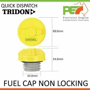 Tridon Fuel Cap Non Locking For Holden Jackaroo Diesel Ubs73 L8 Turbo
