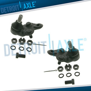 Both 2 New Front Lower Ball Joints For 1988 1992 Geo Prizm Toyota Corolla