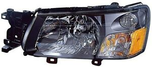 Headlight Assembly Left driver Side Fits 2003 2004 Subaru Forester New