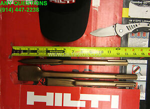 Hilti Te Sds Max Pointed Flat Chisel Great Condition Fast Ship