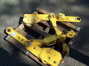 Used Pair Of Heavy Duty Tractor Lift Arms 3 Point Hitch Massey John Deere Ford