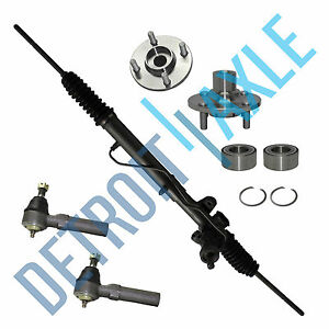 1995 1999 Dodge Plymouth Neon Rack And Pinion Front Wheel Bearing Tie Rod Kit