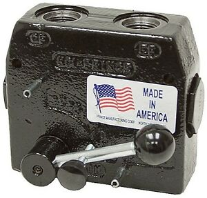 Prince Hydraulic Compensated Flow Control Rd 150 8 1 2 Port 0 8 Gpm Adjustable
